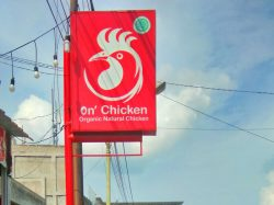 Neon box Tiang On Chicken